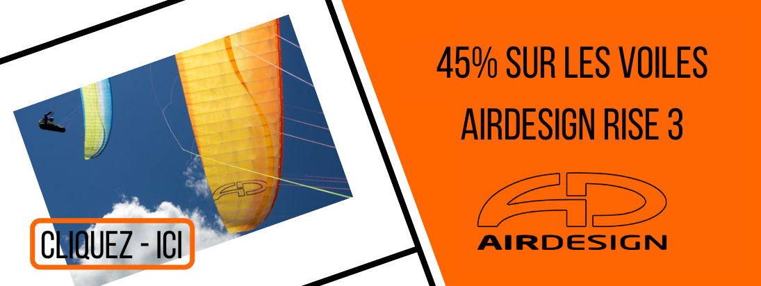 Soldes 45% Air design Rise 3